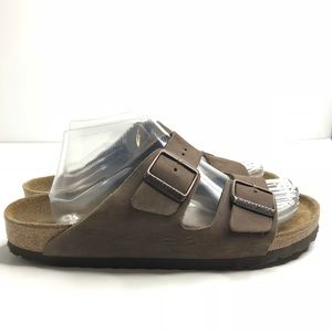 Birkenstock Arizona 41 brown suede leather sandal